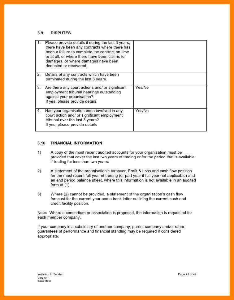 6+ tender invitation format | intern resume