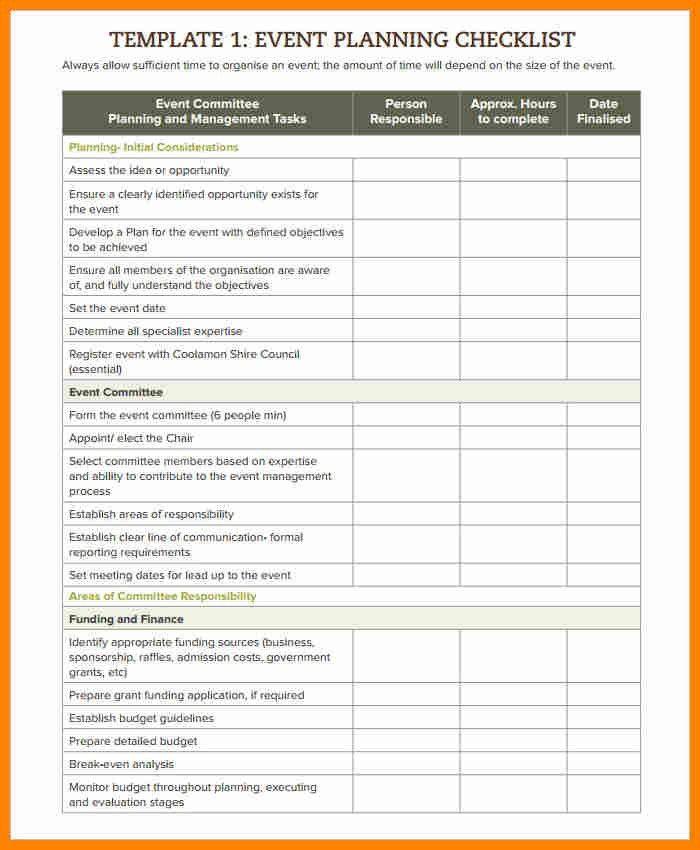 Event Timeline. 4 E-Kit Webinar Planning Timeline Planning A ...