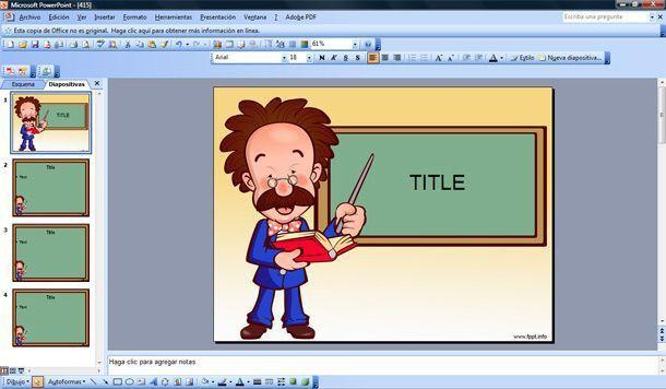 Free Teacher Powerpoint Templates | Template Design