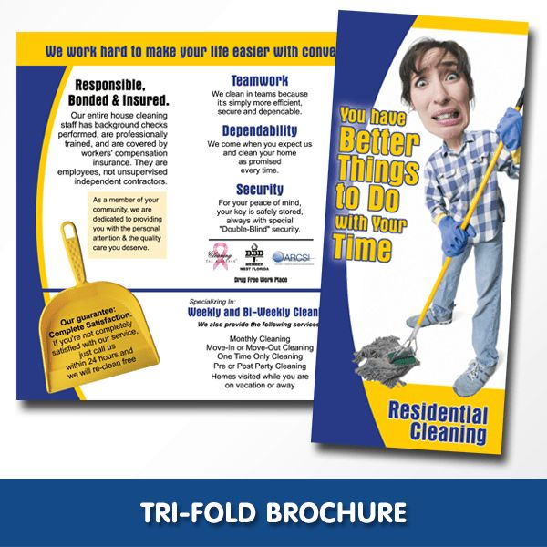 8 Best Images of Cleaning Company Brochure Templates - Pool ...