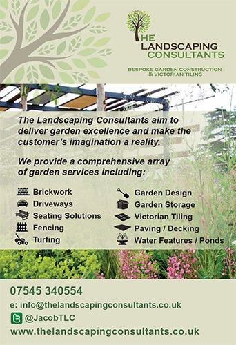 New Advert… | The Landscaping Consultants