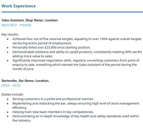 Standard Resume Format Uk. copy resume format proper resume format ...