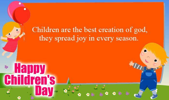 Happy Children's Day Quotes & Wishes: Best Bal Divas Wishes ...