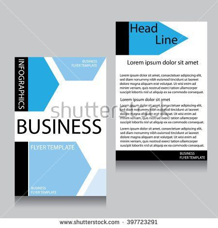 Annual Report Brochure Flyer Design Template Stock Vector ...