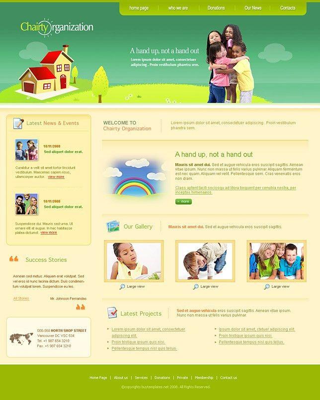 Charity Website Templates - Contegri.com