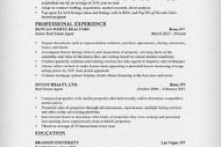 Real estate resume cover letter no experience nature of case study ...