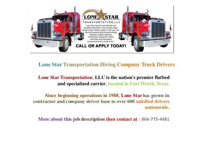 Job opportunities for truck drivers in united states