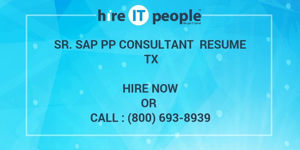 Sap Pp Resume. sap bi resume sample for fresher best free resume ...