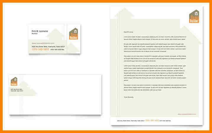 Letterhead Sample. Personal Letterhead Template Word Sample ...