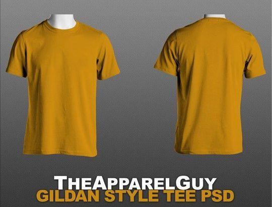 13 Free PSD T-Shirt Templates | SmashingApps.com