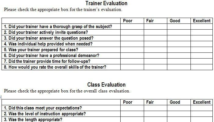 Assessment forms templates training assessment form free premium training assessment form leadership training evaluation form pronofoot35fo Choice Image