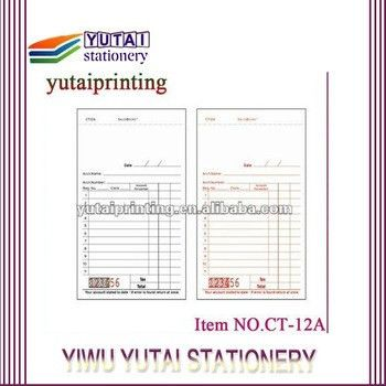 Invoice Book Form Money Or Rent Receipt Book - Buy Rent Receipt ...