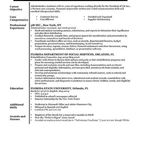 Agreeable Example Of Resume Sweetlooking - Resume CV Cover Letter