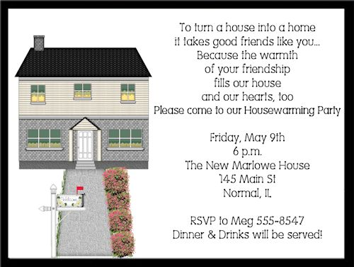 Housewarming Invitation Ideas Template | Best Template Collection