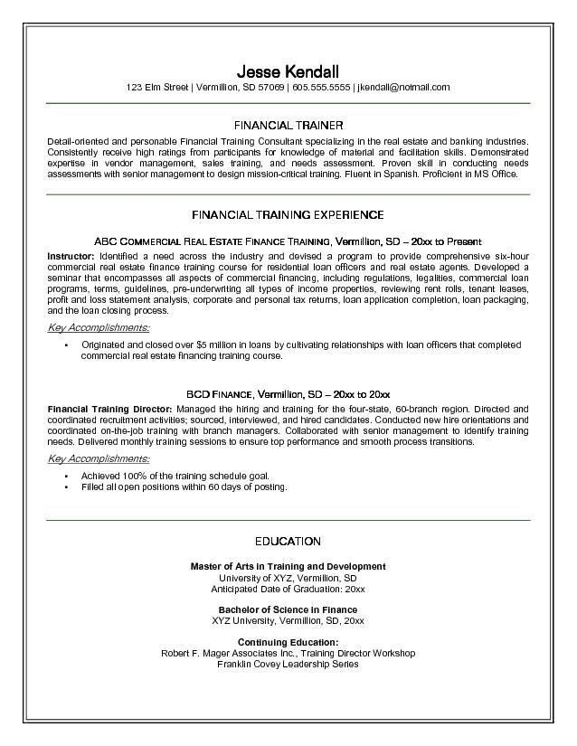 Personal Trainer Resume Template | ilivearticles.info