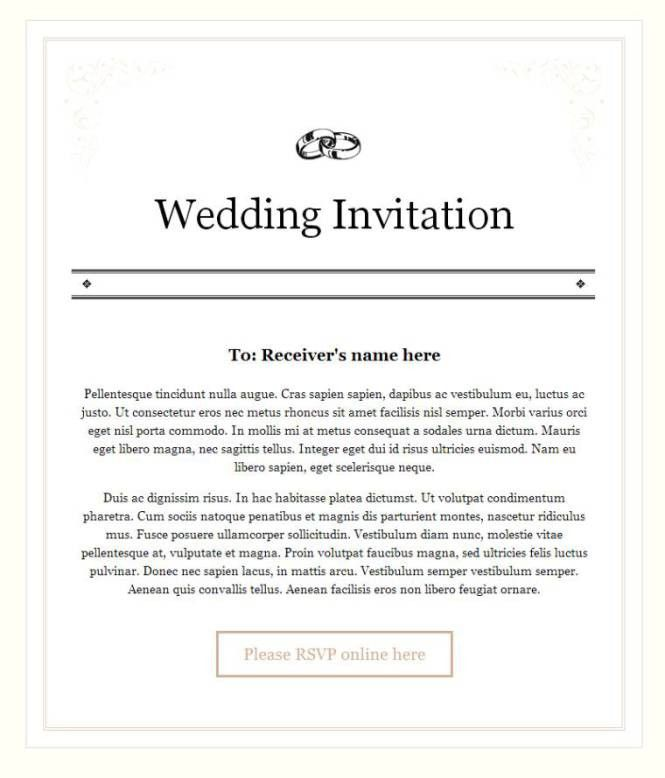 Wedding Email Invites | PaperInvite