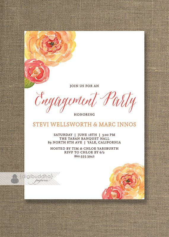 Free Engagement Party Invitations – frenchkitten.net