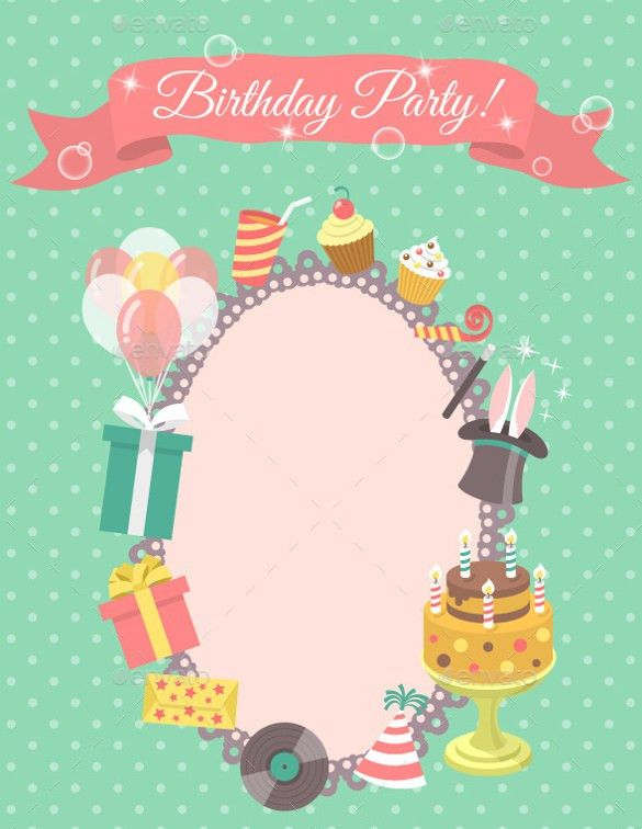 27+ Blank Birthday Templates – Free Sample, Example, Format ...