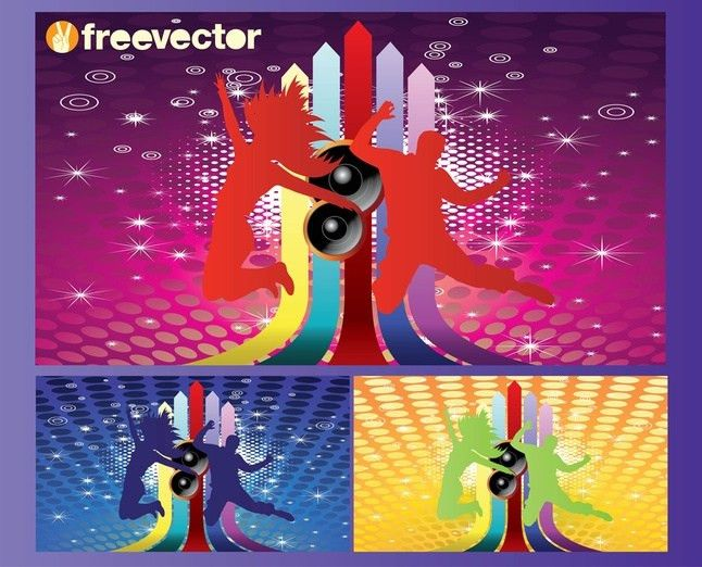 Club Flyer Background Vector   Free Download