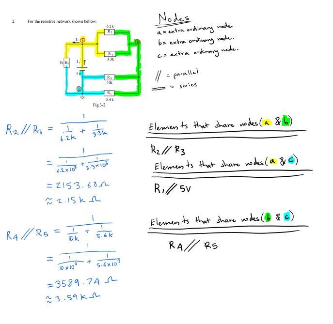 Symbols : Amazing Verification Current Divider Rule Law Voltage ...