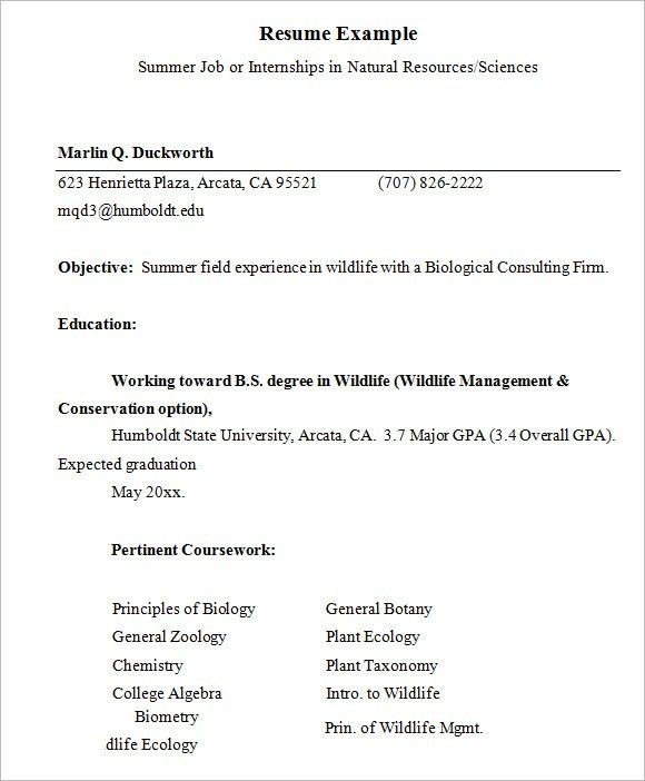 mft intern resume intern engineering resume s engineering ...