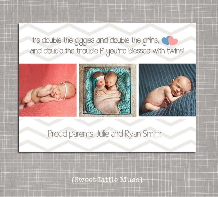 87 best Birth announcements images on Pinterest | Twin photos ...