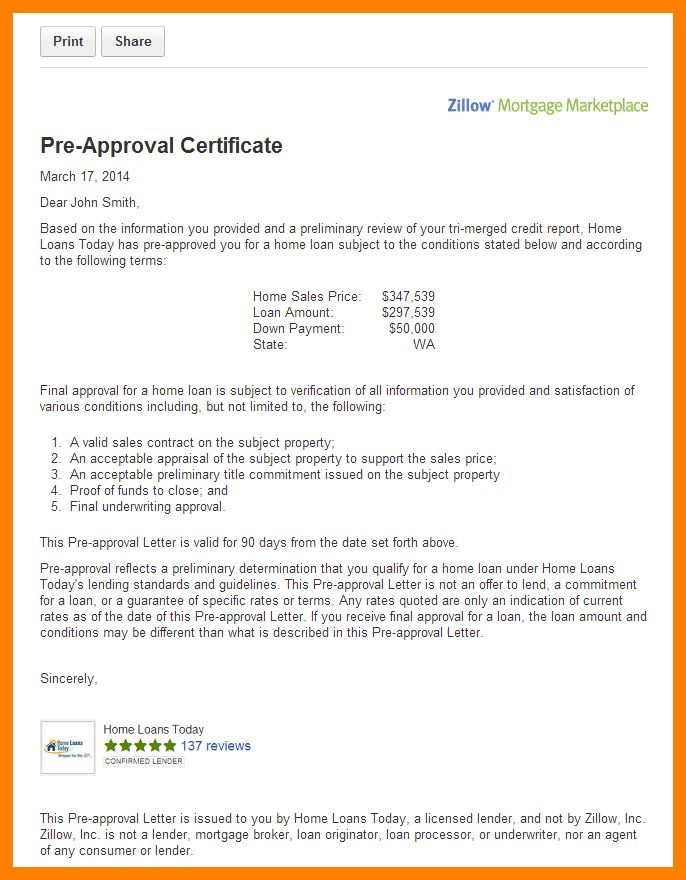 Rent Free Letter Template For Mortgage.mortgage Pre Approval ...