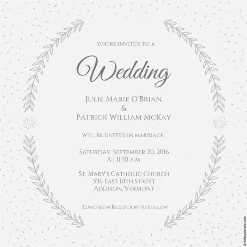 Wedding Invitation Word Template | wblqual.com