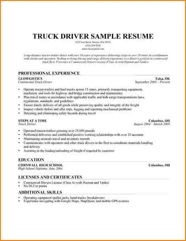Dragline operator sample resume example warehouse resume resume