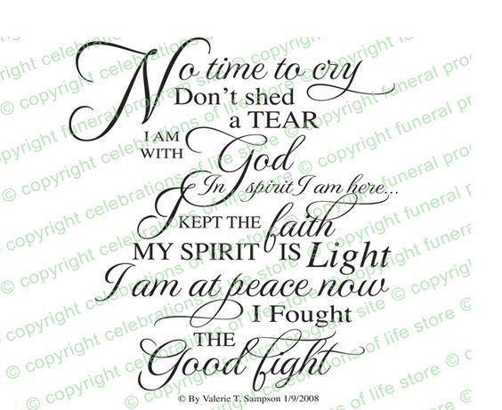 Best 25+ Funeral verses ideas on Pinterest   Memorial poems ...