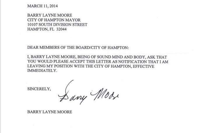 Resignation Letter Format: Leaving Position In City Effective ...
