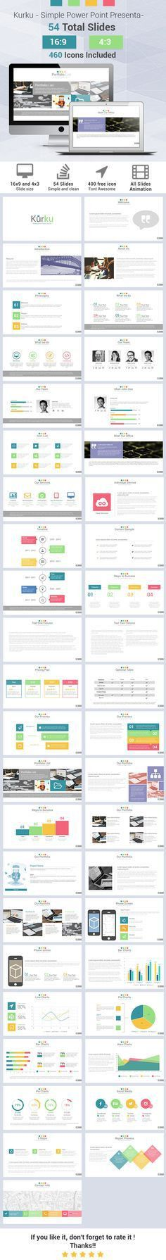Executive Powerpoint Template by Slidedizer on Creative Market ...
