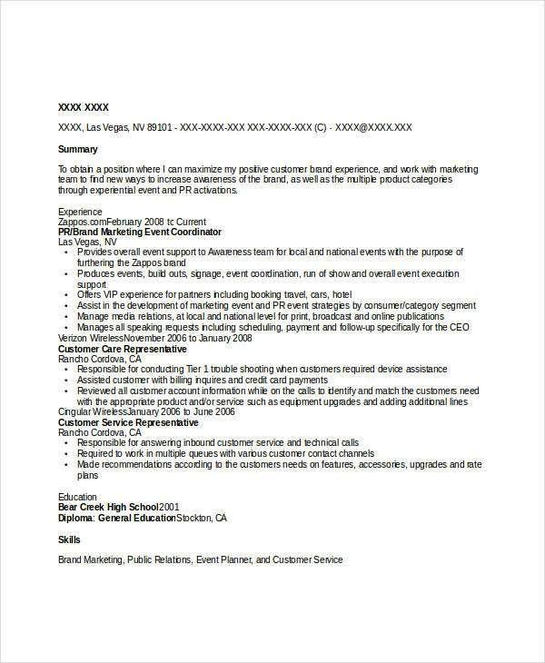 Event Coordinator Resumes. Arlene Albert | Page 1 Of 2; 2 ...