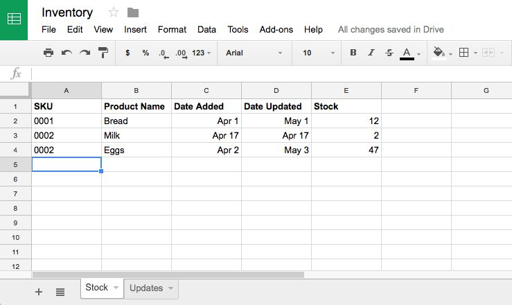 How to Manage Inventory in Google Sheets with Google Forms - How ...