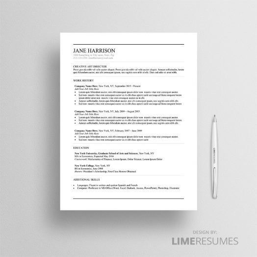 Instant Resume Templates 22 Creative Resume Template - uxhandy.com