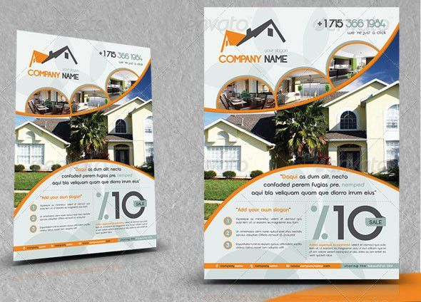 16 Great Real Estate Flyer Templates – Design Freebies