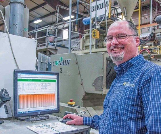 High-Tech Blow Molding At Agri-Industrial Plastics : Plastics ...