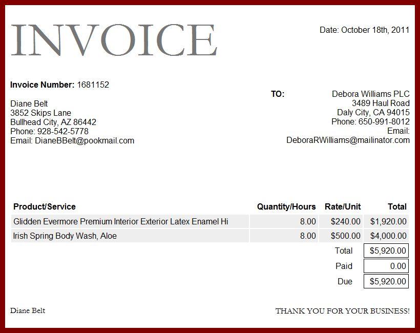 Download Indian Invoice Format | rabitah.net