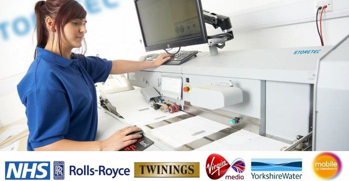 The UK's Leading Experts in Document Scanning Services | STORETEC