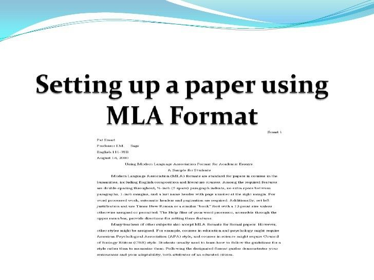 mla. printable 2013 mla format outline mla format sample paper ...
