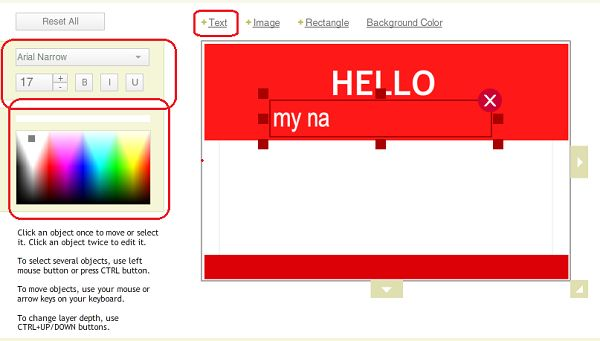 Free Hello My Name is Nametag Template of 2014 | MakeBadge