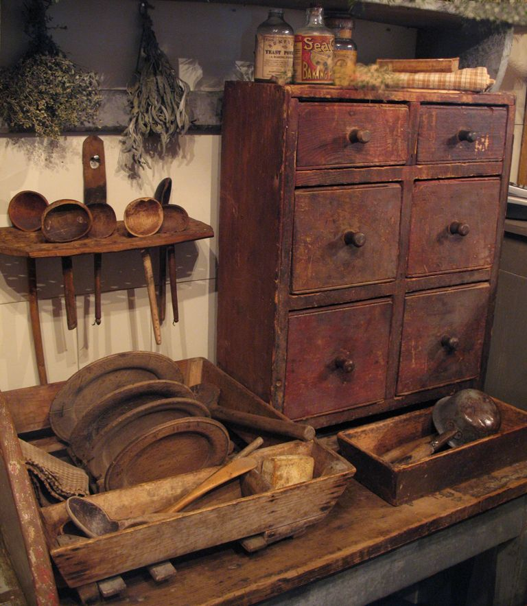 Primitive Kitchen Decor Ideas: Primitive Decor On Pinterest