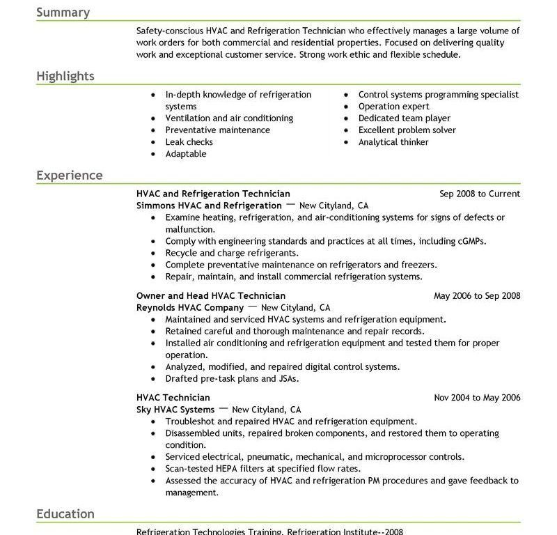 Hvac Resume Objective Examples] Human Resources Coordinator Sample