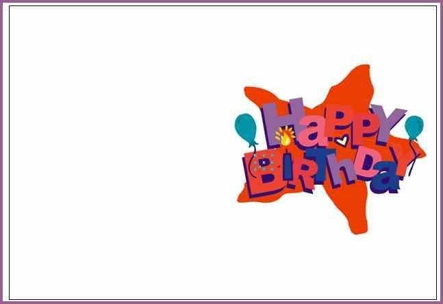BIRTHDAY CARD TEMPLATES | designproposalexample.com