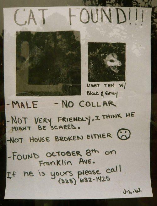 Hilarious Paper Street Signs - Neatorama
