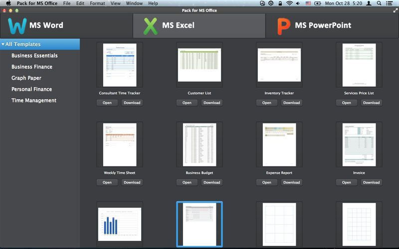 Pack for MS Office on the Mac App Store