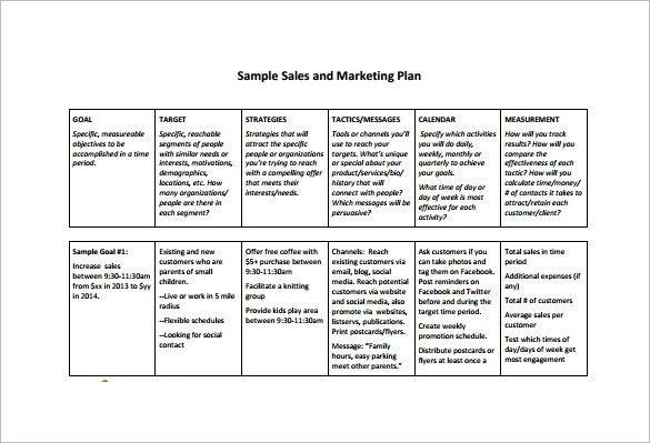 Sales Plan Template | ebook