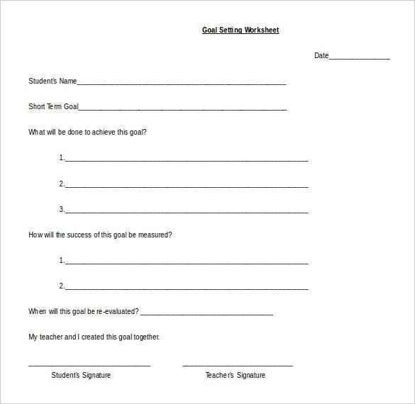 19+ Worksheet Templates Free Download MS Word 2010 Format | Free ...