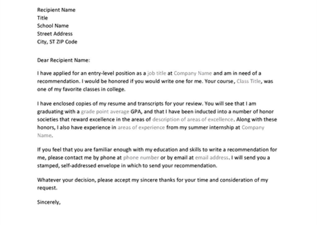 employee recommendation letter provide an employee recommendation ...