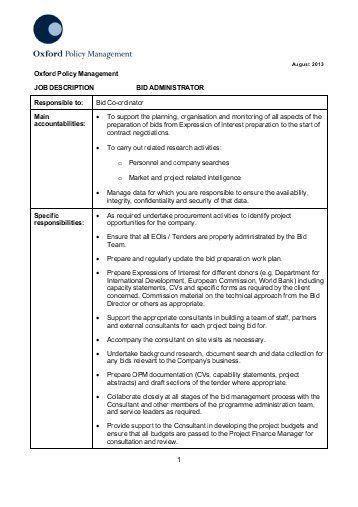 Operations Director Job Description. Operations Director Resume ...